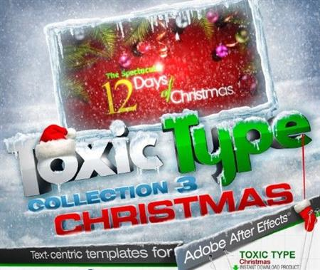 After Effects - DJ Toxic Type Christmas Collection 3