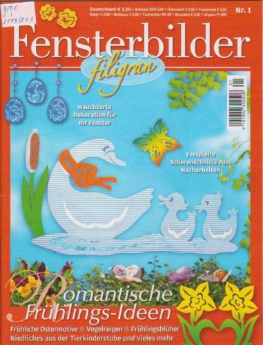 Fensterbilder-Filigran No.1