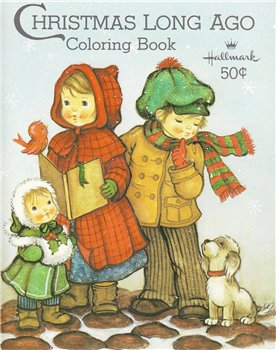 Coloring Book Christmas Long Ago