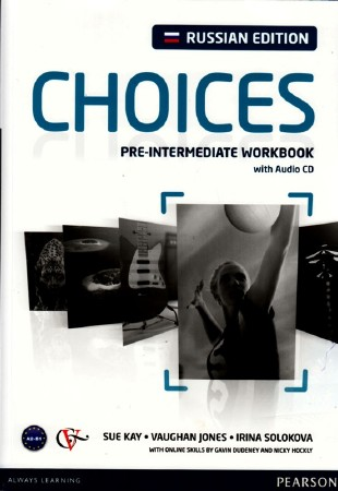 CHOICES. Pre-intermediate. Workbook.